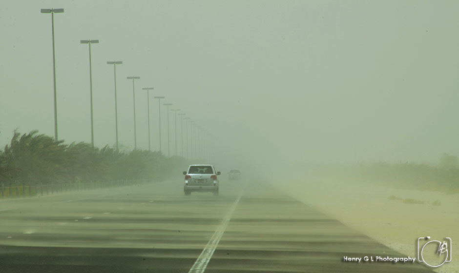 HGL Dust storm