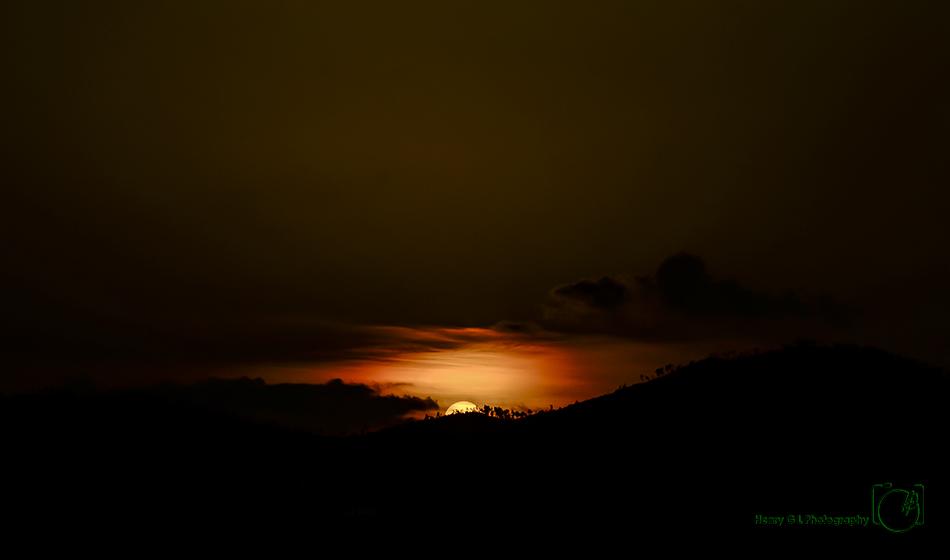HGL Sunset painting